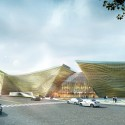 City Cultural Center Competition Entry / TheeAe LTD. Courtesy of TheeAe LTD.