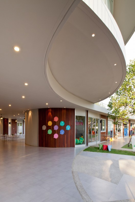 Kensington International Kindergarten Plan Architect