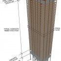 The Timber Tower Research Project: Re-imagining the Skyscraper Courtesy of SOM
