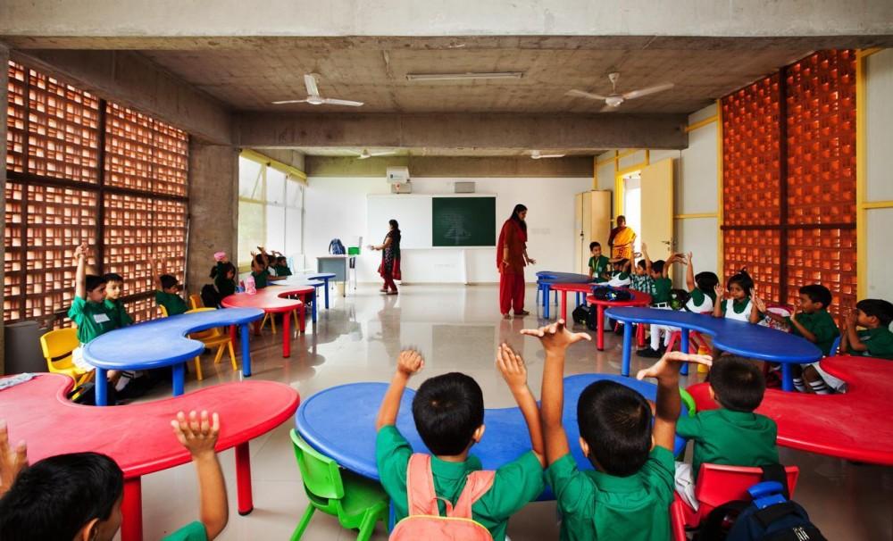 Architecture photography dps kindergarden school khosla for Kinder gardine