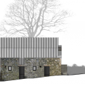 Loughloughan Barn / McGarry-Moon Architects Elevation
