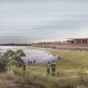 'The Lodge on the Lake' Third Prize Winning Proposal / Nic Moore + Monica Earl Courtesy of Nic Moore + Monica Earl