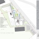 City Cultural Center Comeptition Entry / Williamson Architects site plan