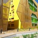 Residence Origami / Agence Bernard Bühler Courtesy of Agence Bernard Bühler