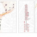 'Redesigning Detroit: A New Vision for an Iconic Site' Competition Entry / Various Architects plan diagram