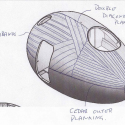 Exbury Egg / PAD studio + SPUD Group + Stephen Turner Sketch