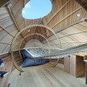 Exbury Egg / PAD studio + SPUD Group + Stephen Turner © Nigel Rigden