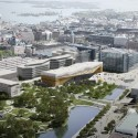 Helsinki Central Library Winning Proposal / ALA Architects Courtesy of ALA Architects