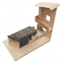 Wood and the Dog / StudioErrante Architetture Model