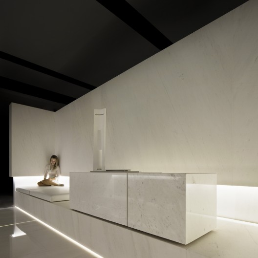 Blanc showroom l antic colonial fran silvestre - Arquitectos castellon ...