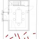 Nousfit Warehouse / Hideo Horikawa Architect & Associates First Floor Plan