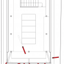 Nousfit Warehouse / Hideo Horikawa Architect & Associates Second Floor Plan
