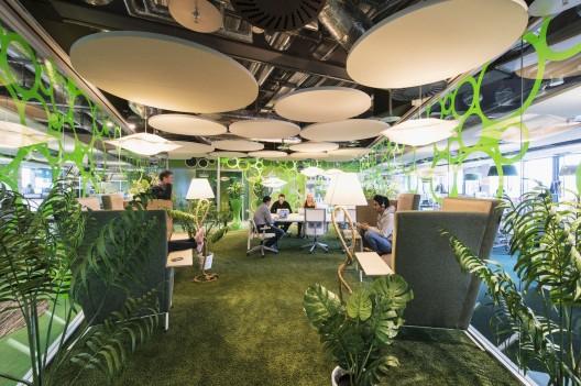 طراحی داخلی دانشکده گوگل،طراحی داخلی