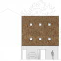 Ferrum House / Mark Merer + Landhouse North Elevation