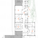 Mokumoku Kindergarten / 16A Inc. First Floor Plan