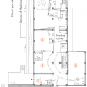 Mokumoku Kindergarten / 16A Inc. Second Floor Plan