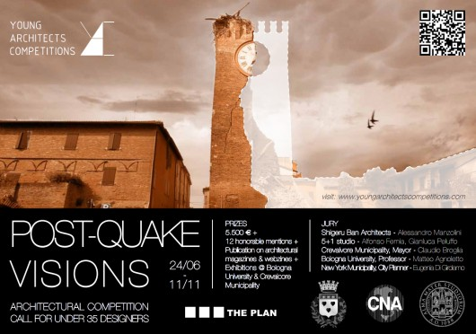 Young architect s competition post quake visions for Noticias de arquitectura