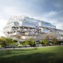 Taichung City Cultural Center Competition Entry / RMJM Courtesy of RMJM