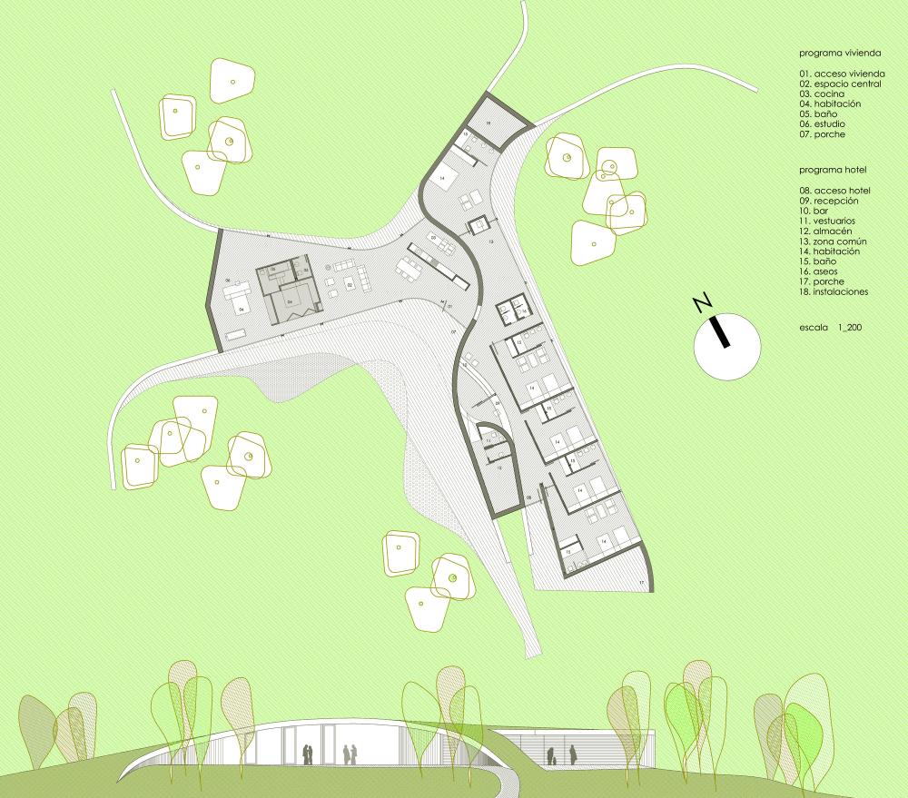 معماری و طراحی هتل CAEaCLAVELES