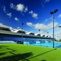 طراحی استادیوم مرکزی تنیس ملبورن
