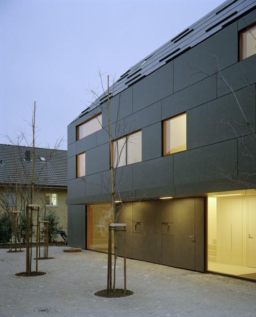 duplex house in k snacht rossetti wyss architekten archdaily. Black Bedroom Furniture Sets. Home Design Ideas