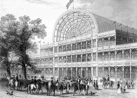 AD Classics: The Crystal Palace / Joseph Paxton The Crystal Palace, 1851. © wikiarquitectura.com
