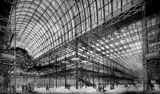 Ad Classics The Crystal Palace Joseph Paxton Archdaily