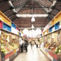 Proyecto de Remodelación del Mercado Municipal de Atarazanas / Aranguren & Gallegos Arquitectos Courtesy of Aranguren & Gallegos Arquitectos