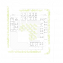 Social Housing in Valleca´s Eco-boulevard / Olalquiaga Arquitectos Ground Floor Plan