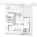 The Courtyard House / AR43 Architects First Floor Plan