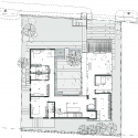 The Courtyard House / AR43 Architects Second Floor Plan