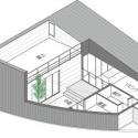 House in Kamoshima / Naoko Horibe Axonometric