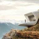 معماری موزه کوهستانی آلپ توسط زاها حدید
