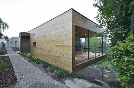 family house mseno stempel tesar architekti. Black Bedroom Furniture Sets. Home Design Ideas
