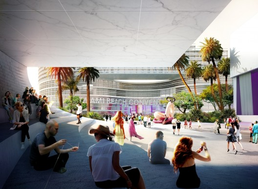 Miami Beach Convention Center Winning Proposal South Beach Ace Archdaily