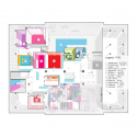 Family Box  / Crossboundaries Architects 2nd Floor Plan Phase 1