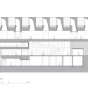 El Museo de Arte Chazen / Machado y Silvetti Associates Sección