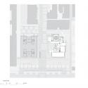 El Museo de Arte Chazen / Machado y Silvetti Associates Plan de sitio