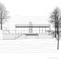 Lake House / LHVH Architekten Elevation