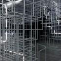"UVA Transforma Pabellón Serpentine Sou Fujimoto, con ""Electrical Storm"" de LEDs © United Visual Artists"
