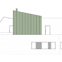 Casa en San Prudencio Norte / Patxi Cortazar East Elevation