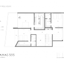 Casa Palmas Seis / POMC arquitecto Upper Floor Plan