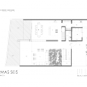 Casa Palmas Seis / POMC arquitecto Ground Floor Plan