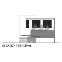 Casa Palmas Seis / POMC arquitecto Main Elevation
