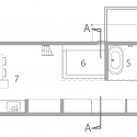 Dogsalon / Naoko Horibe First Floor Plan