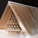Recientemente publicado fotos de la catedral de cartón de Shigeru Ban en Nueva Zelanda © Shigeru Ban Architects