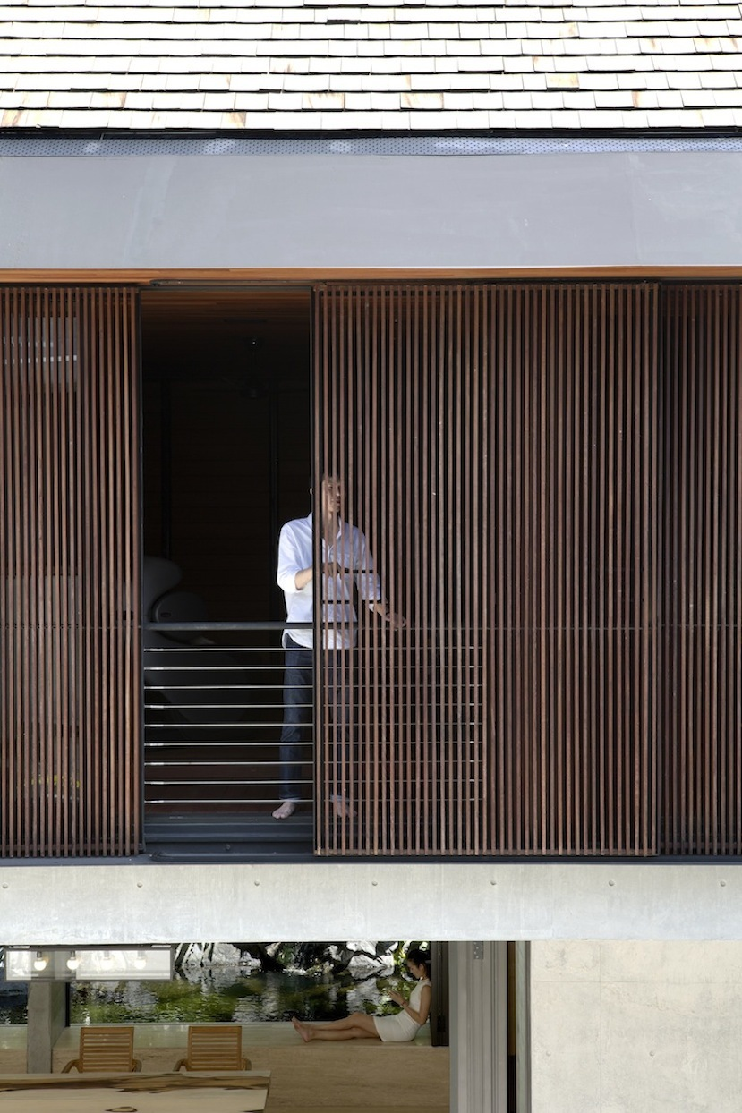 1000 images about gevels hout on pinterest architects for Sliding timber screens