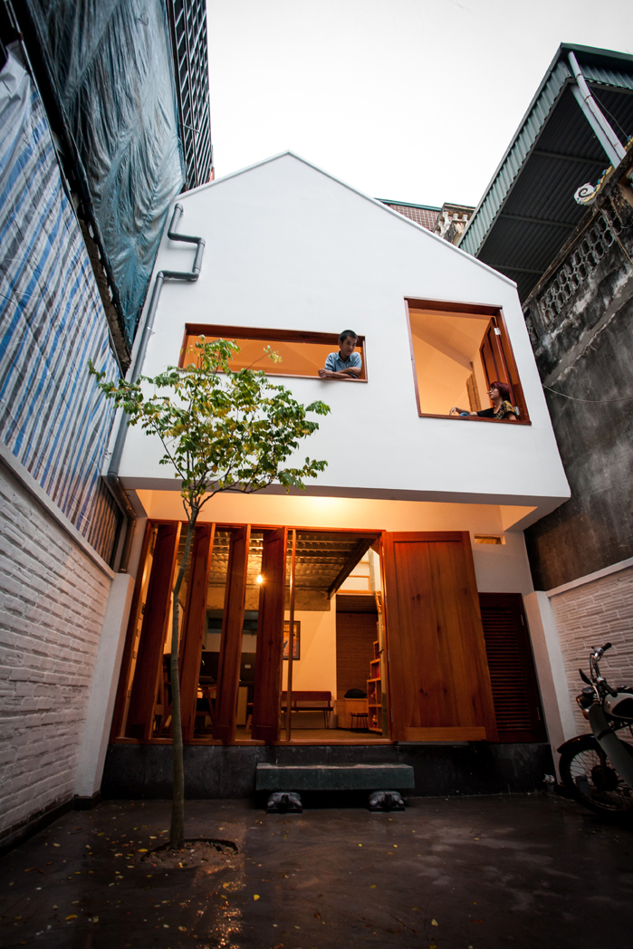 KN House - A small house in Hanoi, Vietnam by Adrei-studio Architecture