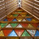 Recientemente publicado fotos de la catedral de cartón de Shigeru Ban en Nueva Zelanda © Bridgit Anderson