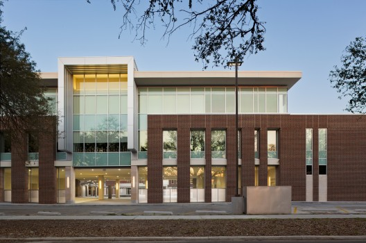 Front Elevation School Building : Baton rouge magnet high school chenevert architects